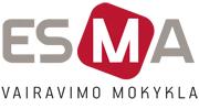Vairavimo mokyklos ESMA logotipas